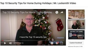 Top 10 Security Tips for Home During Holidays | Mr. Prolock™ Blog