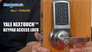 Yale NexTouch™ Keypad Access Lock | Mr. ProLock™ Blog