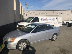 2003 Honda Civic Lost Keys Mr. Pro Locksmith Automotive Langley