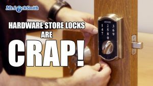 Hardware Store Locks are CRAP! | Mr. Prolock Blog