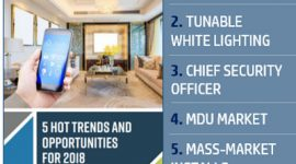 Top 5 Home Tech Trends for 2018: From Smart Home Services to 'Chief Security Officers'
